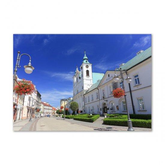 WALLMURALIA Foto obraz akrylový Řešov Polsko 100x70 cm