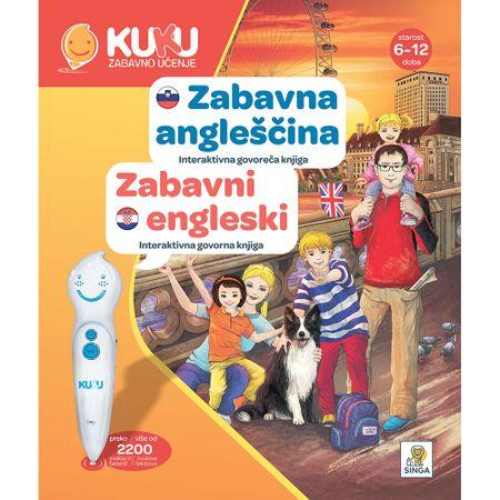 Kuku Zabavno Učenje knjiga Zabavni engleski, interaktivna