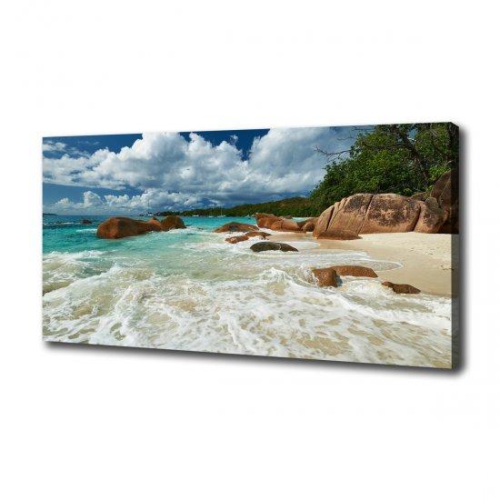 Foto obraz canvas Pláž Seychely