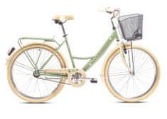 Capriolo CTB Paris Lady mestno kolo, zeleno-bež