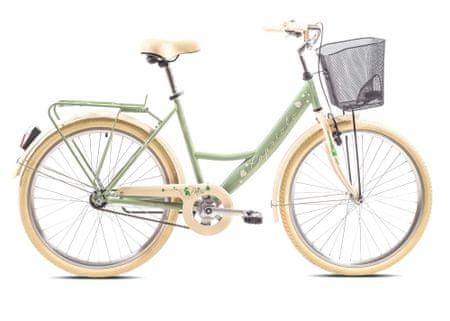 Capriolo CTB Paris Lady gradski bicikl, zelena-bež
