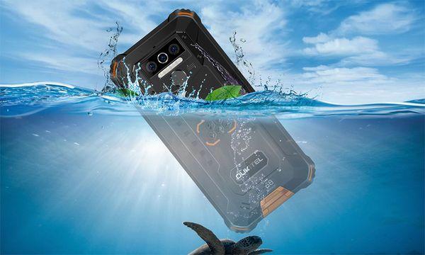 Oukitel WP5, odolný, IP68, vojenská odolnost MIL-STD-810G, pády, nárazy, extrémní teploty, ponoření do vody, prach, špína