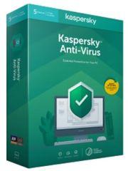 Kaspersky Lab Anti-Virus protivirusna programska oprema, 1-godišnja obnova, 3 PC, BOX