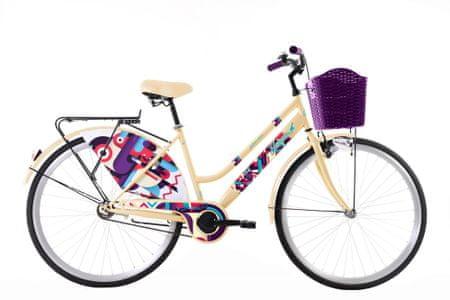 Capriolo CTB Adria 2020 Jasmin 28 mestno kolo, bež/vijolična