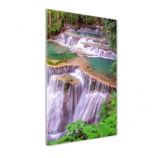 WALLMURALIA Foto obraz akrylový na stěnu Vodopád 70x140 cm