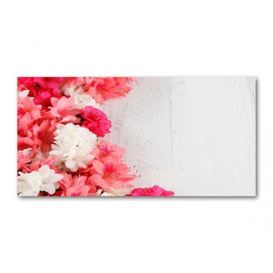 Foto obraz akryl do obýváku Květiny