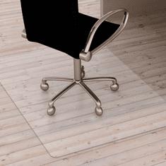 TEMPO KONDELA Ochranná podložka pod stoličku, transparentná, 140x100 cm, 0,5 mm, ELLIE