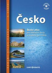 Česko Školní atlas - pro základní školy a víceletá gymnázia