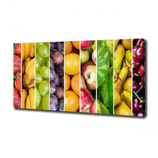 WALLMURALIA Foto obraz na plátně Ovoce 140x70 cm