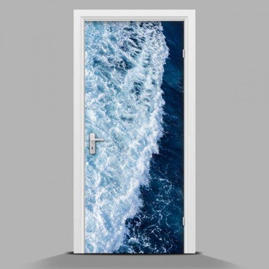 Nálepka na dveře Mořská vlna