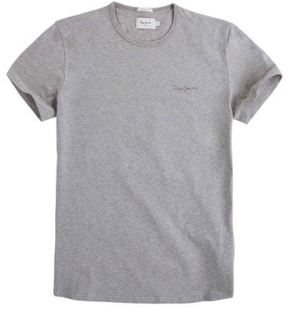 Pepe Jeans moška majica Original Basic S/S PM503835, S, siva