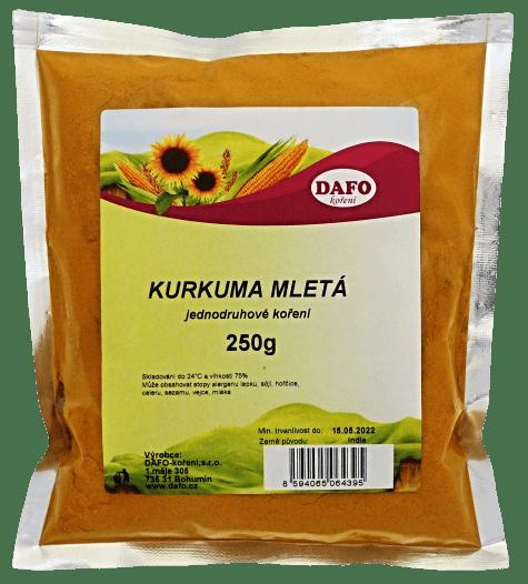 DAFO KURKUMA MLETÁ 250g