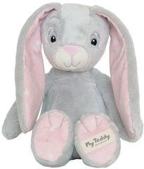 My Teddy Plyšový zajačik ružový
