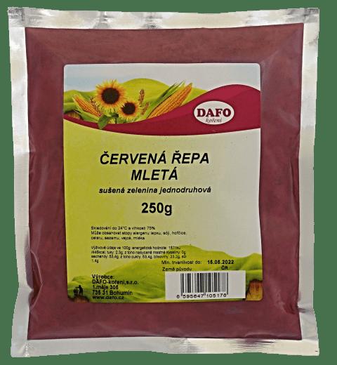 DAFO ČERVENÁ ŘEPA MLETÁ 250g