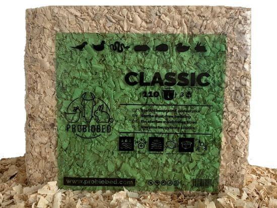 ProBioBED CLASSIC 110 litrů - bezprašná sterilní podestýlka, ptáci
