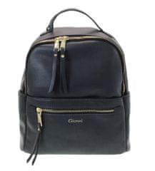 Gionni Lille női fekete hátizsák 11G2221