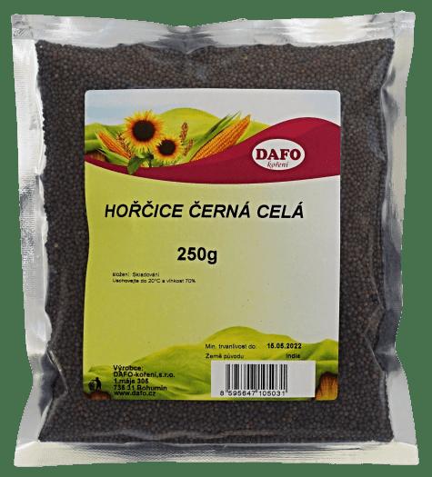 DAFO HOŘČICE ČERNÁ CELÁ 250g