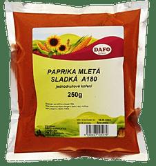 DAFO PAPRIKA MLETÁ SLADKÁ A180 250g