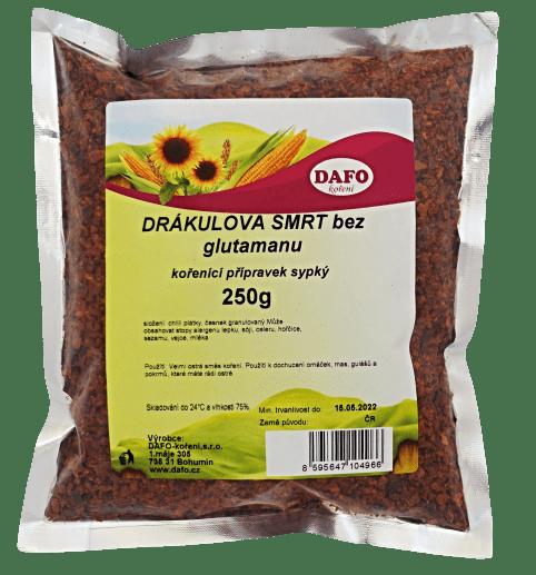 DAFO DRÁKULOVA SMRT BEZ GLUTAMANU 250g