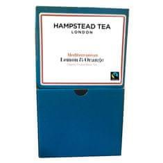 Hampstead Tea London BIO čierny čaj Darjeeling citrón pomaranč 250ks