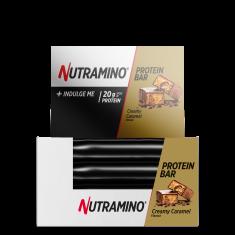 Nutramino Proteinová Tyčinka Krémová Karamel - Box 12 kus