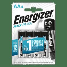 Energizer Baterie AA/LR6 Energizer MAX Plus 4ks (blistr)