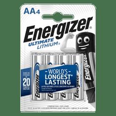 Energizer Baterie AA/FR6 ENERGIZER Ultimate LITHIUM 4ks (blistr)