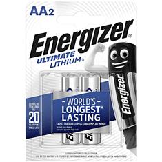 Energizer Baterie AA/FR6 ENERGIZER Ultimate LITHIUM 2ks (blistr)