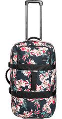 ROXY dámska cestovná taška In The Clouds Anthracite Wonder Garden S ERJBL03213-XKMR