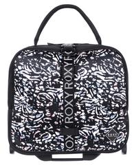 ROXY dámska príručná batožina Geometric Storage True Black Izi ERJBL03204-KVJ7