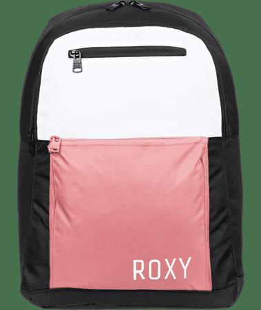 ROXY Damski czarny plecak Here You Are Colorblock Fitness Dusty Rose ERJBP04165-MKP0