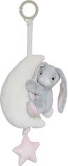 My Teddy Plyšový zajačik s melódiou - ružový