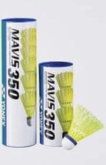 Yonex Mavis 350 1/3 badbinton žogica, rumena, srednja