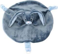 My Teddy Môj zajačik muchláčik modrý