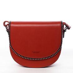 Silvia Rosa Menšia koženková kabelka Little Lady, red