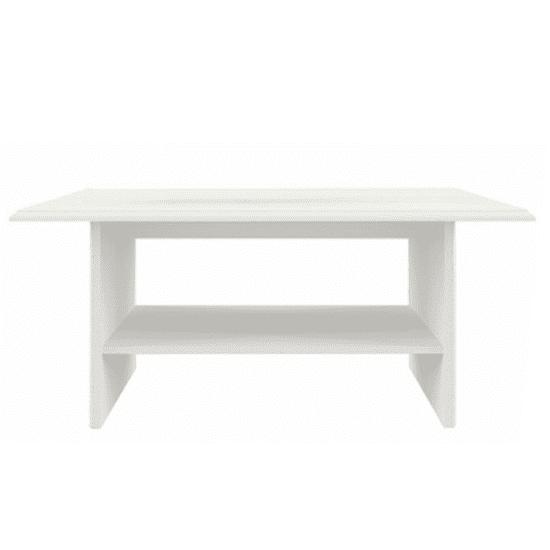 TEMPO KONDELA Konferenčný stolík 110, woodline krém, TIFFY 12