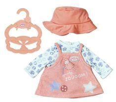 Baby Annabell Little Baby oblačilo, roza obleka, 36 cm