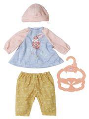 Baby Annabell Little Baby oblačila za ven, obleka in hlače, 36 cm