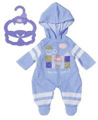 Baby Annabell Little Baby oblačila za ven, pajac s kapuco, 36 cm