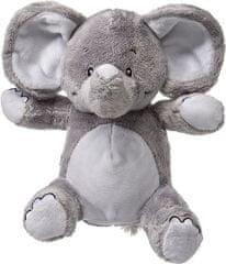 My Teddy Môj prvý slon plyšák - sivá