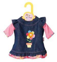 Zapf Creation Dolly Moda Džínsové šaty, 43 cm