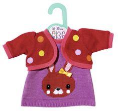 Zapf Creation Dolly Moda Oblečenie s pletenou bundičkou, 36 cm