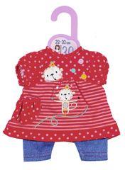 Zapf Creation Dolly Moda Šaty a nohavice, 30 cm