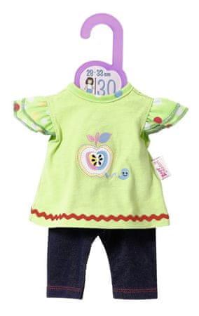 Zapf Creation ubranko dla lalki Dolly Moda Sukienka i legginsy, 30 cm
