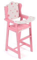 Bayer Chic Csillagos rózsaszín etetőszék