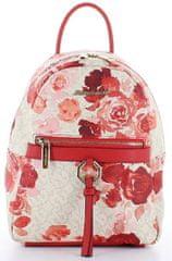 Marina Galanti módní batůžek s květinovým vzorem