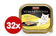 Animonda V.Feinsten CORE indyk, wołowina + marchew dla kotów 32x100 g