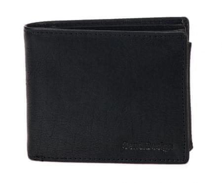 Sendi Design Fekete férfi pénztárca D305