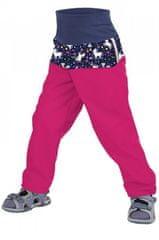 Unuo otroške softshell hlače brez izolacije Samorog