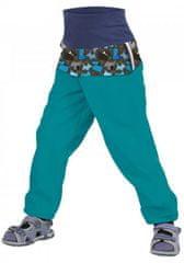Unuo otroške softshell hlače brez izolacije Kužki